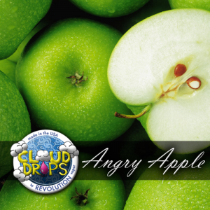 Angry Apple by Cloud Drops