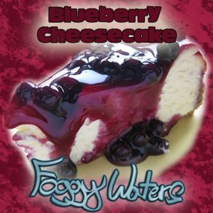 Blueberry Cheesecake by Foggy Waters