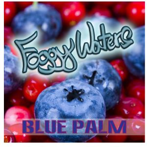 Blue Palm by Foggy Waters