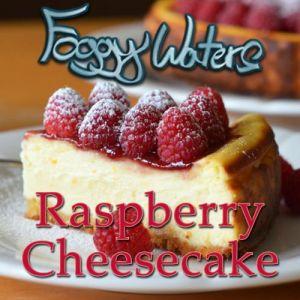 Raspberry Cheesecake by Foggy Waters