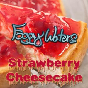 Strawberry Cheesecake by Foggy Waters