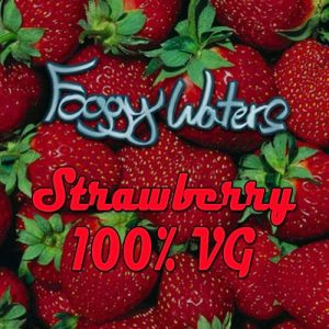 Strawberry Comp Juice by Foggy Waters